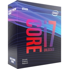 CPU Intel Core i7-9700KF 3.60Ghz Turbo up to 4.90GHz / 12MB / 8 Cores, 8 Threads / Socket 1151 / Coffee Lake