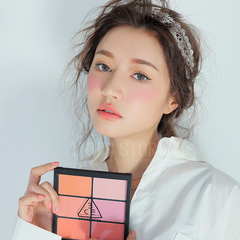 Phấn Má 3CE Pro Multi Blush Color Palette #Pure Play