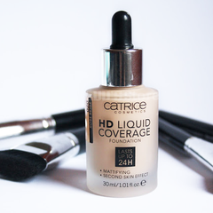 Kem Nền CATRICE HD Liquid Coverage Foudation Lasts Up To 24H #Rose Beige (020)