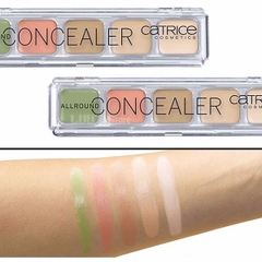 Che khuyết điểm 5 ô catrice allround concealer palette