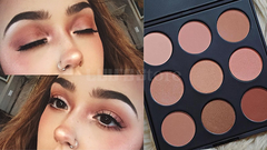 Bảng má hồng Morphe 9N The Naturally