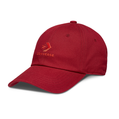 Converse Lock Up Baseball MPU Cap - Enamel Red