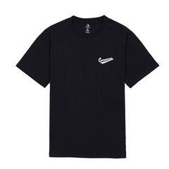 Converse Left Chest Logo Tee - Black
