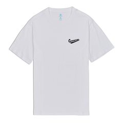 Converse Left Chest Logo Tee - White