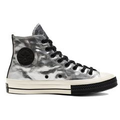 Converse Chuck Taylor All Star 1970s Flight School Leather Silver - Hi