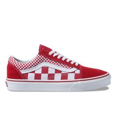 Vans Old Skool Mix Checker Chili Pepper