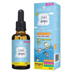 VTM Natures Aid DHA Drops 50ml