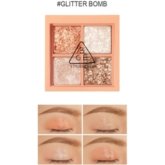 Bảng Mắt 4 ô 3CE Mini Multi Eye Color Palette #Glitter Bomb 2.8g
