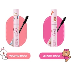 Mascara Làm Dày Mi Missha Volume Boost Cara Line Friends Edition 8.5g