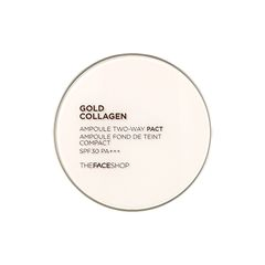 Phấn Nền Tinh Chất Vàng Collagen The Face Shop Gold Collagen Ampoule Two-Way Pact SPF30 PA+++