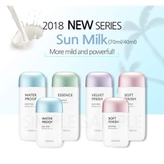Sữa Chống Nắng Missha All Around Safe Block Essence Sun Milk – New 2018 70ml SPF50+/PA+++
