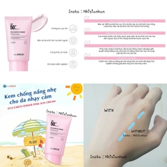 Kem Chống Nắng The Saem Eco Earth Power Pink Sun Cream  50ml SPF50+ PA++++