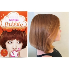 Nhuộm Tóc Dạng Bọt Gội Etude House Hot Style Bubble Hair Coloring #OR08 Sweet Orange