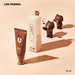 Kem Nền Che Khuyết Điểm Missha Perfect Cover B.B Cream #21 Light Beige SPF42/PA+++[Line Friends Edition – Gấu Brown]