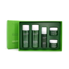Bộ Sản Phẩm Dưỡng Trắng Chống Lão Hóa Chiết Xuất Nhân Sâm Sữa Ong Chúa Nature Republic Ginseng Royal Silk Trial Kit 5 Items