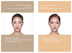 Laneige Two-tone Contouring Bar No.1 Cacao