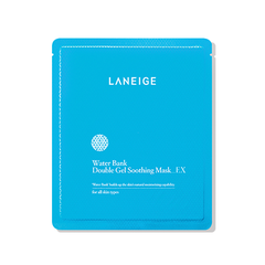 Laneige Water Bank Double Gel Soothing Mask EX (5 miếng)