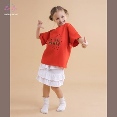 BỘ THUN TRẺ EM LALA - FASHION KID & MORE - COTTON 100% ( IN CHỮ I AM MAGIC)