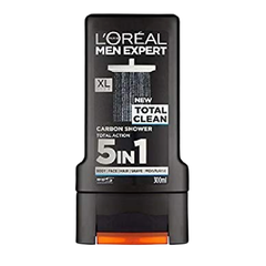 Gel tắm, gội L'Oreal Total Clean 5 in 1