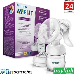 Dụng cụ hút sữa bằng tay Philips Avent SCF330 - Made in Anh Quốc