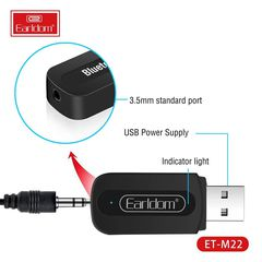 USB Thu Bluetooth Earldom M22