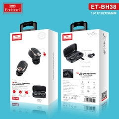 Tai Nghe Bluetooth True Wireless Earldom ET-BH38
