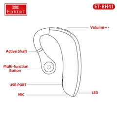 Tai nghe Bluetooth Earldom BH41