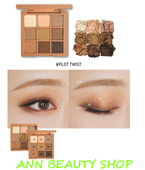 Bảng mắt 9 ô 3CE MOOD RECIPE MULTI EYE COLOR PALETTE #PLOTTWIST
