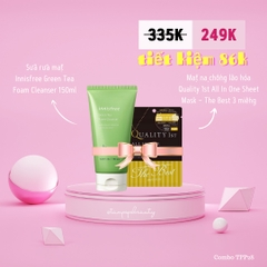 Mặt Nạ Chống Lão Hoá Quality 1St All In One Sheet Mask ( 3 Miếng)
