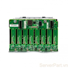 10134 Bo mạch ổ cứng HP Backplane hdd DL380 G9 Gen9 8 port 2.5