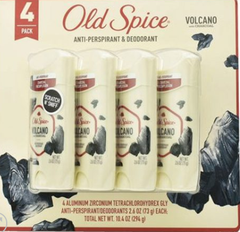 Old Spice Men's Volcano With Charcoal Antiperspirant