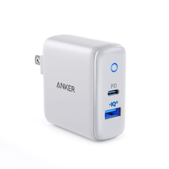 Cốc Sạc Anker PowerPort PD+ 2 Cổng 33W Power Delivery, PowerIQ 2.0 A2626