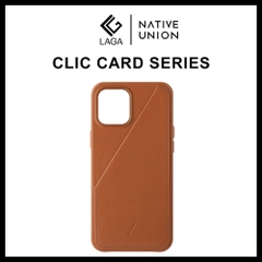 Ốp Lưng Native Union CLIC CARD iPhone 12 Pro Max / 12 Pro / 12