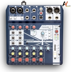 Mixer Live Soundcraft Notpad-8FX Analog
