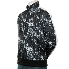ÁO KHOÁC JACKET NIKE SPORTSWEAR BLACK WHITE PRINTED FULL ZIP CAMO