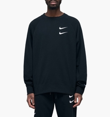 ÁO SWEATER NIKE DOUBLE LOGO BLACK