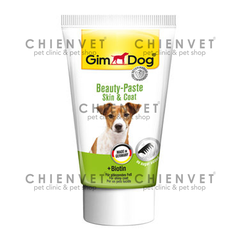 GimDog Beauty paste skin & coat 50g - Bổ sung Biotin cho chó