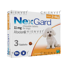 NexGard for dog 2-4kg