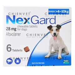 NexGard for dog 4-10kg
