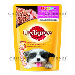 Pedigree puppy chicken flavour in gravy
