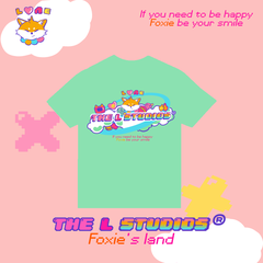 Tee Foxie Land - Green