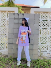 Tee Foxie Purple