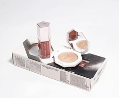 Set Son_Highlighter- Fenty Beauty- Bomb Baby Mini Lip And Face Set