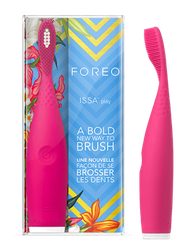 Bàn chải điện foreo issa play a bold new way to brush hồng đậm wild strawberry
