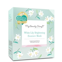 Mặt nạ My Beauty Diary White Lily Brightening Essence Mask (gói)