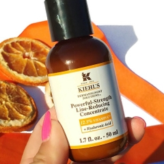 serum 12.5% vitamin c kiehls powerful strength line reducing concentrate 75ml