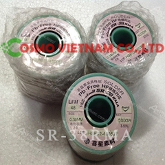SOLDER WIRE 0.38MM,[Wire-Solder]Almit.SR-38RMA, 0.38mm, 200g/roll, Pb -Free, High performance resin flux cored solder