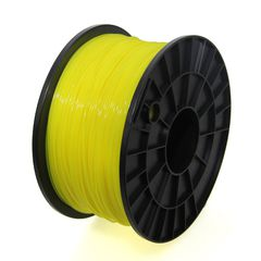 1.75mm PLA Filament -1Kg(Yellow)
