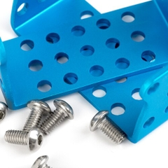 MEDS15 Servo Motor Bracket-Blue(Pair)
