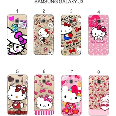 Ốp lưng Samsung Galaxy J3 in hình Kitty